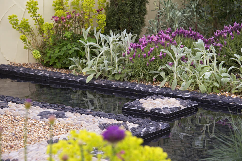 Photo of garden design water feature
